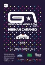 Groove Armada, Hernan Cattaneo, Dusty Kid la Romexpo Bucureşti