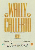 Wally Callerio la Bucureşti