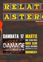 Concert Relative şi Astero în Damage Rock Club din Bucureşti