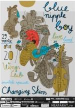Concert Blue Nipple Boy în Wings Club din Bucureşti