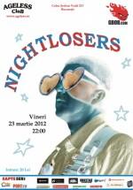 Concert Nightlosers în Ageless Club din Bucureşti