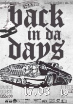 Old School Saturday – Back In Da Days la Frame Club din Bucureşti