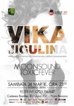 Vika Jigulina în Bla Bla Cafe din Bucureşti