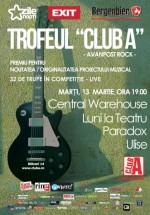 Concert Central Warehouse, Luni la Teatru, Paradox şi Ulise în Club A din Bucureşti