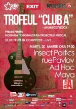Concert Insect Politics, ruePavlov, Ad Hoc şi Maya în Club A din Bucureşti