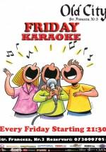 Friday Karaoke în Old City Franceză din Bucureşti