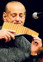 Gheorghe Zamfir va concerta la Sala Palatului în mai 2012