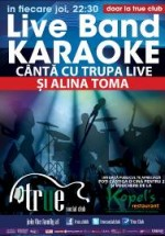 Live karaoke în True Club din Bucureşti