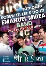 Concert Emanuel Mirea Band în True Club din Bucureşti