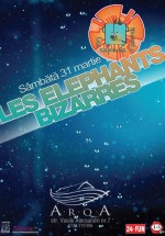 Concert Les Elephants Bizzares în Club Arqa din Timişoara
