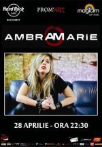 Concert Ambra Marie la Hard Rock Cafe din Bucureşti
