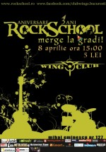 Aniversare RockSchool în Wings Club din Bucureşti