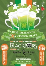 St. Patrick's Weekend în Fire Club din Bucureşti