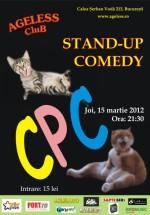 Stand-up Comedy cu CPC în Ageless Club din Bucureşti