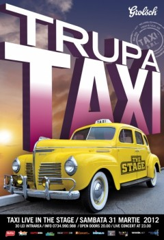 taxi 240x350 Concert Taxi în The Stage Club din Bacău