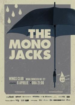 Concert The Mono Jacks în Wings Club din Bucureşti