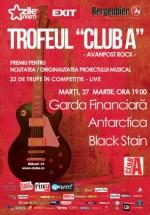 Concert Garda Financiară, Antarctica şi Black Stain în Club A din Bucureşti