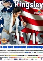 Rob Kingsley – A Vision Of Elvis în Hard Rock Cafe din Bucureşti
