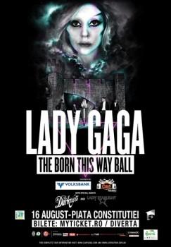 Concert Lady Gaga la Bucureşti în Piaţa Constituţiei