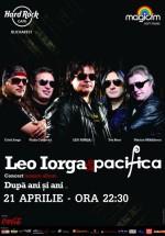 """Concert Leo Iorga & Pacifica lansare album """"După ani şi ani"""" în Hard Rock Cafe din Bucureşti"""
