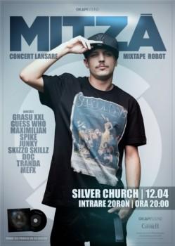 """Concert Mitză – lansare """"Robot"""" în The Silver Church din Bucureşti"""