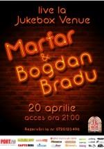 Concert Marfar şi Bogdan Bradu în Jukebox Venue din Bucureşti
