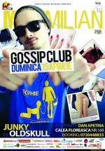 Concert Maximilian în Gossip Club din Bucureşti