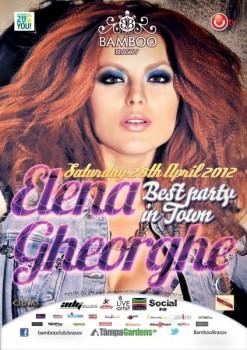 Concert Elena Gheorghe în Club Bamboo din Braşov