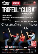 Concert Changing Skins, Maya şi F.A.N. în Club A din Bucureşti