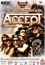 Concert Accept în Chaos Venue din Bucureşti