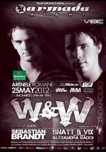 W&W şi Sebastian Brandt la Arenele Romane din Bucureşti