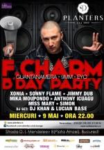 F.Charm B'Day Party în Club Planters din Bucureşti