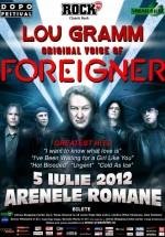 Concert Lou Gramm (Foreigner) la Bucureşti – ANULAT