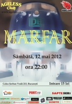 Concert Marfar în Ageless Club din Bucureşti
