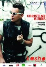 Christian Burns în Kasho Club din Braşov