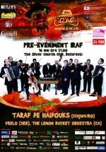 Concert Taraf De Haidouks, Vrelo şi The Lemon Bucket Orkestra în The Silver Church Club din Bucureşti