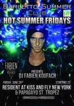 DJ Fabien Koufach în Barletto Summer Club din Bucureşti