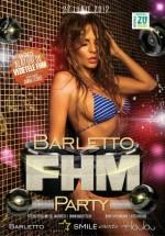 FHM Party în Barletto Summer Club din Bucureşti