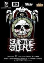 Concert Suicide Silence în Club Fabrica din Bucureşti