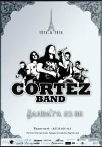 Concert Cortez Band în Tête-à-Tête din Bucureşti