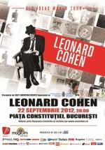 Concert Leonard Cohen la Bucureşti