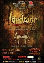Concert Loudrage şi Arkham în Ageless Club din Bucureşti