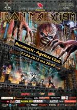 Concert Iron Maidnem în Ageless Club din Bucureşti