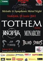 Concert Tothem în Ageless Club din Bucureşti