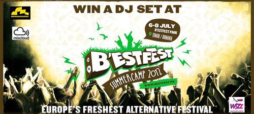 Competiţie pentru DJ-ii începători la B'ESTFEST 2012