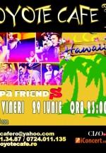 Concert Friends în Coyote Cafe din Bucureşti