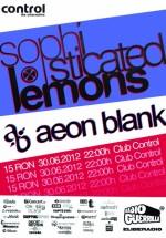 Concert Sophisticated Lemons în Club Control din Bucureşti