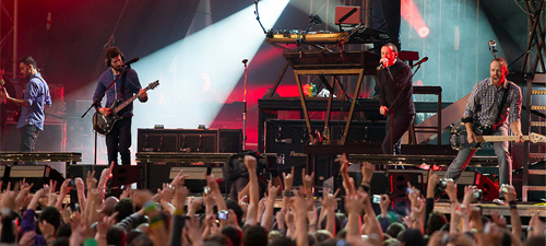 POZE: Linkin Park la Bucureşti