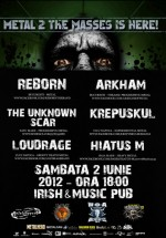 Metal 2 the Masses în Irish & Music Pub din Cluj-Napoca