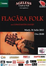 Concert Constantin David în Ageless Club din Bucureşti